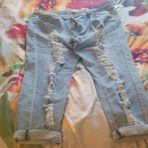 Denim Jeans long light denim